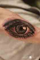 Auge Eye Tattoo